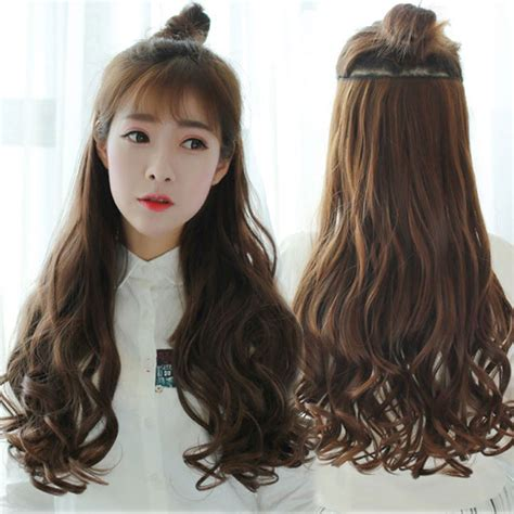 hairstyles with clip on hair extensions 70cm 5 clip hair extension heat resistant fake hairpieces