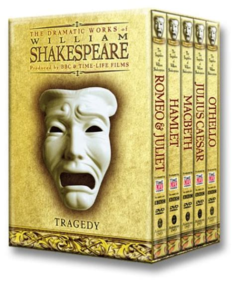 Shakespeare S Tragic In Macbeth by Save 35 50 Shakespeare Tragedies Dvd Giftbox 739815002427 64 49