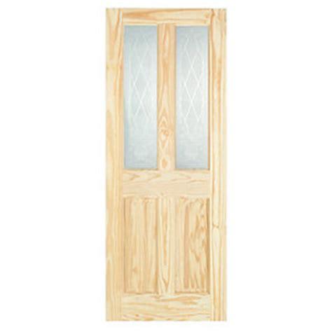 Wickes Skipton Internal Softwood Door Clear Pine Glazed 4 Softwood Interior Doors