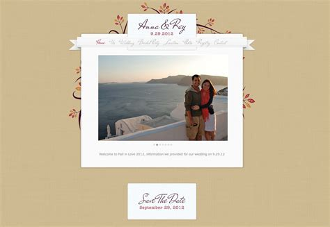 Wedding Idea Websites by 25 Wonderful Wedding Websites Webdesigner Depot