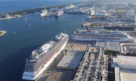 Fort Lauderdale Cruise Port Rental Car by Fort Lauderdale Port Official Port Everglades Site