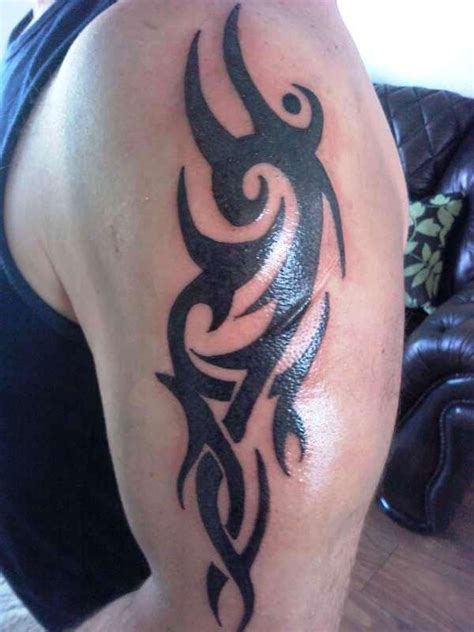 tribal arm piece tattoos quality tribal arm designs bold black tribal