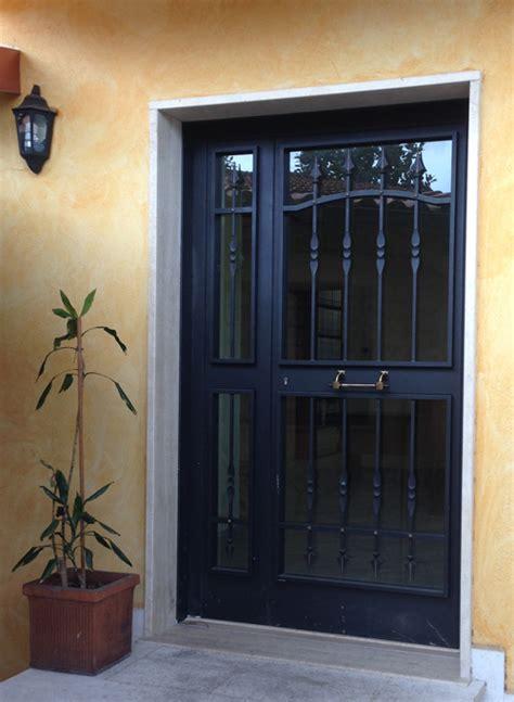 portoni d ingresso in ferro porta in ferro e vetro porte and finestre lisi fabrizio