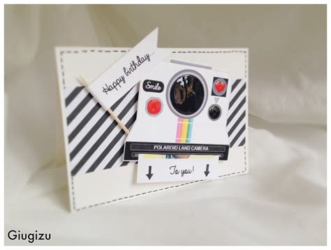 Diy Polaroid Pop Up Card Template by Giugizu S Corner D I Y Sliding Polaroid Card Biglietto