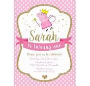 Best 25  Princess Peppa Pig Party Ideas On Pinterest I