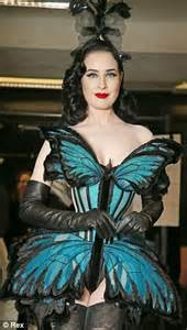 dita von teese closes jean paul gaultier s couture show in