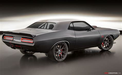 Challanger Concept Car by Dodge Shakedown Challenger Concept Makes Sema Debut