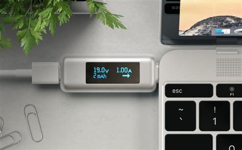satechi usb  power meter shows power usage  devices