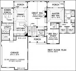 One Story House Plans With Basement One Story Floor Plans With Basements