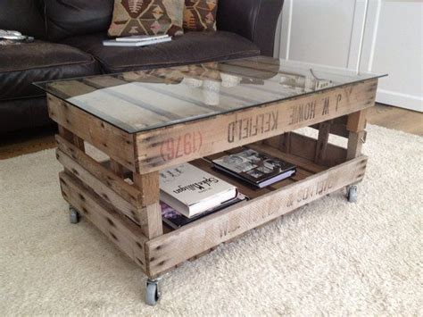 vintage wooden crate coffee table junk to treasure