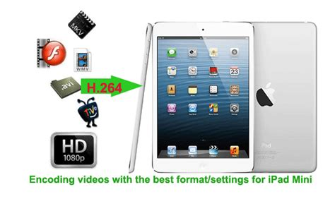 format video ipad mini encoding videos with the best format settings for ipad mini
