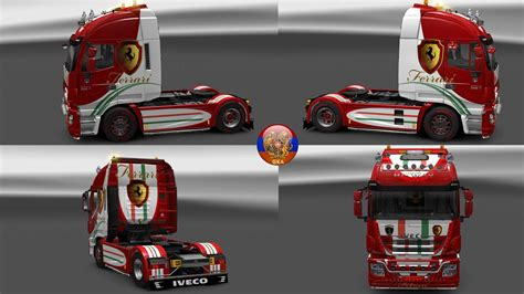 skin pack new year 2017 for iveco hiway and volvo 2012 iveco hiway combo skin packs ferrari hw 1 27 1 7s ets2