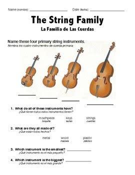 String Worksheets - string family ell worksheet by tpt