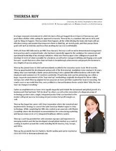 Executive Bio Template by Executive Biography Exle Business Development
