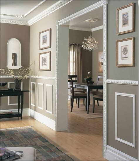dining room trim ideas furniture remodelaholic faux technique for wood panels on wainscoting dining room wall panel