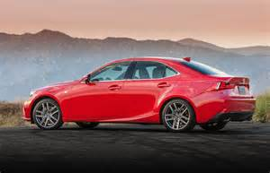 Lexus Lineup 2016 Lexus Is Lineup Now Available In Three Engine Choices