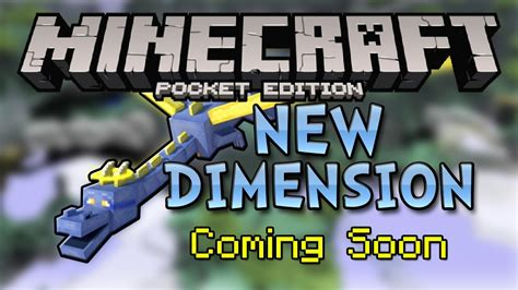 minecraft pe new portal new dimension in mcpe dream portal new blocks