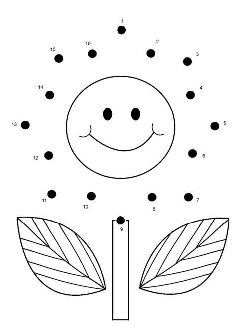printable dot to dot for toddlers free online printable kids games flower dot to dot