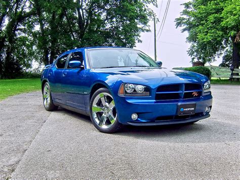 2009 Deep Water Blue Pearl Dodge Charger R/T R&T Pictures