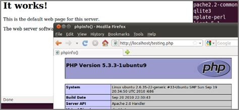 linux pattern webserver how to turn your home ubuntu pc into a lamp web server