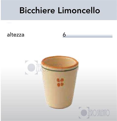 bicchieri limoncello bicchiere limoncello in terracotta ceramica decoro olive