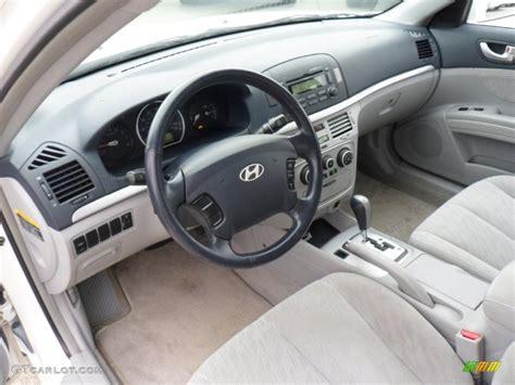 2006 Hyundai Sonata Interior by Gray Interior 2006 Hyundai Sonata Gl Photo 50301960