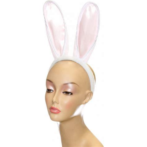 Bunny Hairband by White Bunny Ears Headband Set 19629whaj