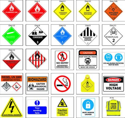 Label Sticker Dg Foto dangerous goods signs stickers stickers labels and stickers commercial signs print