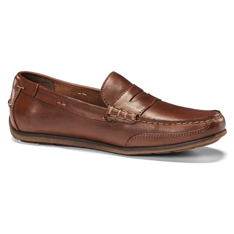 dockers shoes lyst dockers dalton casual slip on in brown for