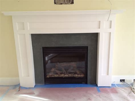 Fireplace Surroundings by Green Slate Fireplace Surround Bodie Built