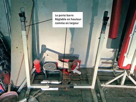 Banc De Musculation Fait Maison by Banc De Muscu Maison