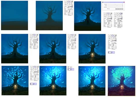 adobe photoshop tutorial step by step 1000 images about digital painting on pinterest