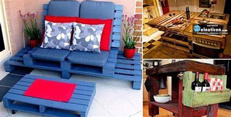 reciclado de palets ideas para tu hogar elnoti