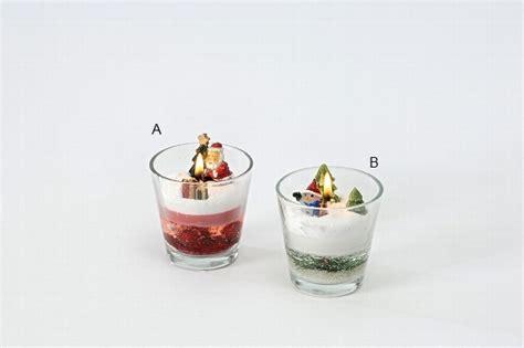 kerze im glas festliche kerze im glas weihnachten rot