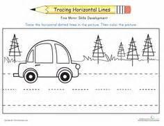 standing line pattern worksheets for kindergarten tracing lines worksheets horizontal lines help the