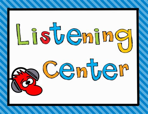 Outdoor Area listening center clipart china cps