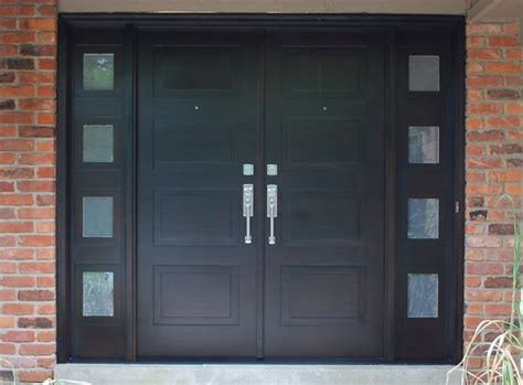 Exterior Double Doors For Private And Commercial Building Commercial Metal Exterior Doors