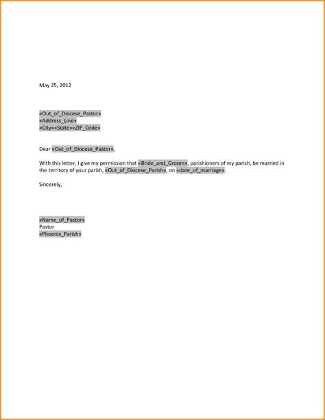 Business Letter Giving Permission authorization letter giving permission 28 images