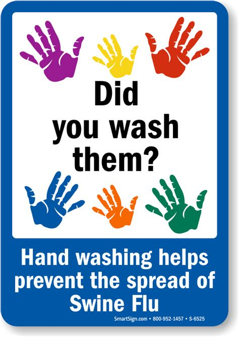 do you wash colors in or cold prevent swine flu wash sign best prices sku s 6525