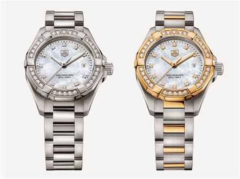 Tag Heuer Aquaracer Lady Watch Collection 2014