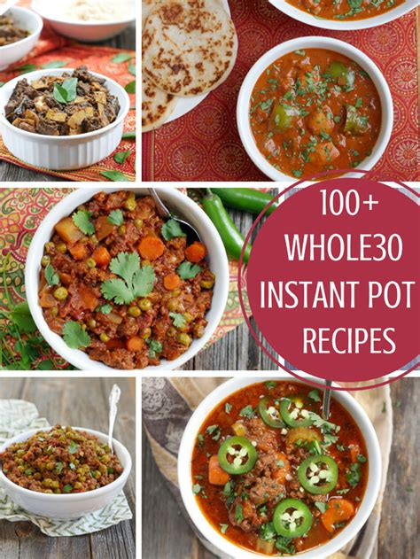 the instant pot whole 30 cookbook day by day 30 days meal plan with 90 easy delicious recipes to health and food freedom books 100 instant pot whole30 recipes my beets