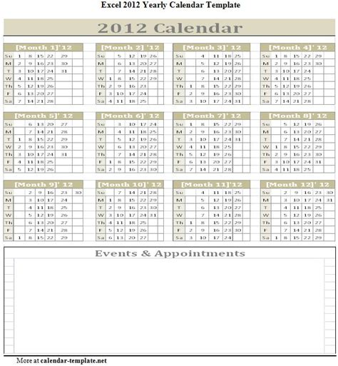 calendar yearly template excel calendar templates weekly new calendar template site