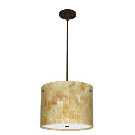 Onyx Drum Pendant Light Bellacor Onyx Pendant Light
