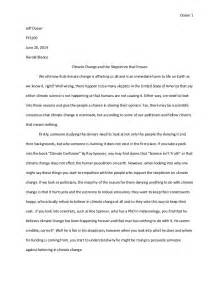 Climate Change Solutions Essay by Essay On Climate Change