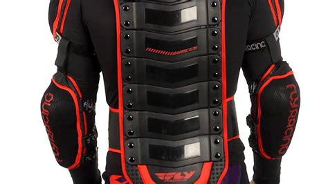 how long is a motocross 2014 fly barricade body armor long sleeve motocross atv