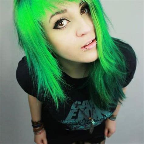 Green Hairstyles by 25 Impressive Hairstyles For