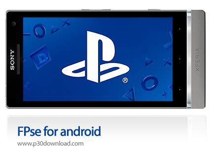 fpse for android دانلود fpse for android نرم افزار موبایل اجرای بازی های پلی استیشن 1