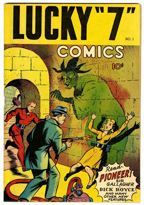 lucky 7 books lucky quot 7 quot comic book 1 comic book plus