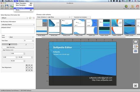 card program for mac cardworks business card software mac