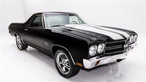 el camino the black 1970 chevrolet el camino black big block